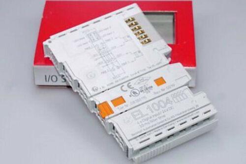 3 MS Beckhoff el1004 4-Channel Digital Input terminal 24 V DC