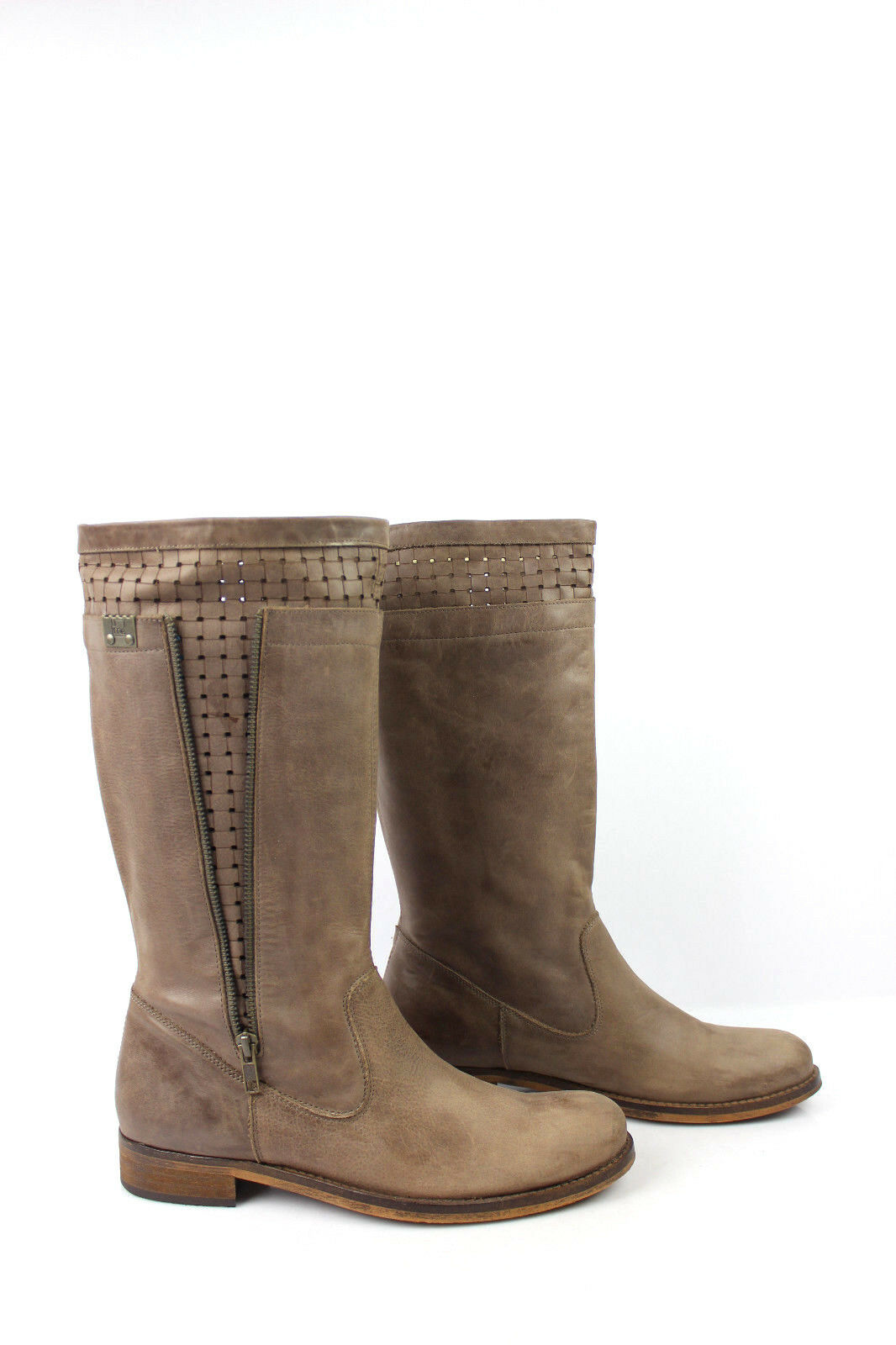 Boots UME A MATIN SUMMER Leather Taupe Clear T 40 VERY GOOD CONDITION