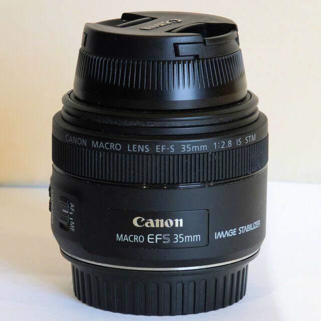 Canon EF-S 35mm F/2.8 STM IS Macro Lens