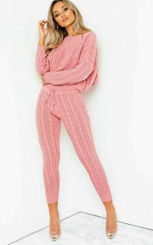 Da Donna con Manica Lunga con lavorazione a trama grossa Abbigliamento Felpa Pantaloni sportivi tuta da ginnastica