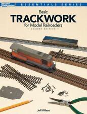 Basic Trackwork for Model Railroaders by Jeff S. Wilson (2014, Paperback)