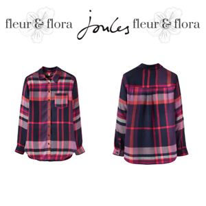 JoulesLaurelChequed Long ShirtFree P/&PRRP £49.95