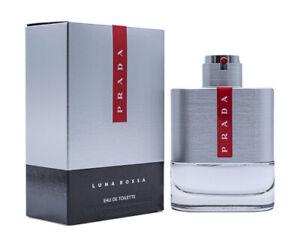 Prada Luna Rossa by Prada 3.4 oz EDT Cologne for Men New In Box