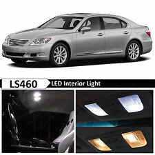 15x White Interior LED Lights Package for 2007-2012 Lexus LS460 LS600H