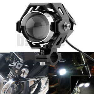 New-125W-Motorcycle-Headlight-CREE-U5-LED-Driving-Fog-Head-Spot-Light-White-Lamp