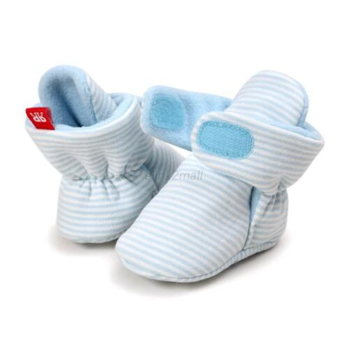 Newborn Baby Soft Warm Crib Shoe Infant Boy Girl Boots Booties Prwalker 0-18M