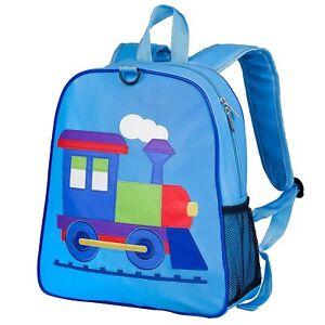 350437e1dd4 Image is loading Wildkin-Train-kids-backpacks-Nursery-Train-Backpack-Train-