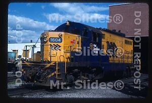 Details about Original Slide ONR Ontario Northland Chop Nose GP9m 1604  North Bay ON 1986