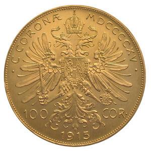 100 Kronen Österreich Gold 30,48 Gramm Goldmünze Franz-Joseph