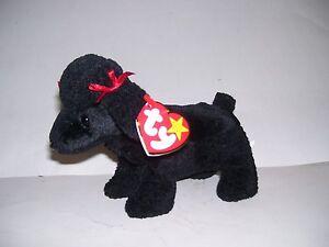 0bb7eb15cda TY Beanie Baby Gigi Black Poodle Dog Rare Date Errors AND China ...