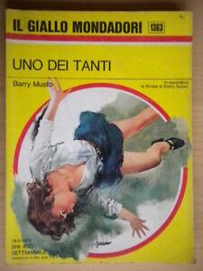 Uno-dei-tanti-Musto-Barry-Mondadori-giallo-1363-mortimer-melrose-polizia-ottimo
