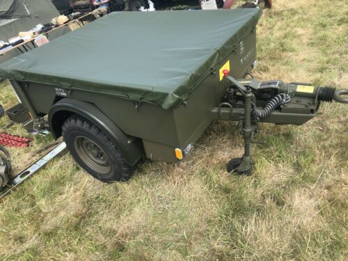 genuine land rover wolf military PENMAN trailer boxed PVC cover Sankey 3//4 ton