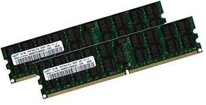2x 4gb 8gb Ecc Ram Mémoire Hp Proliant Bl685c 667 Mhz Registered-afficher Le Titre D'origine