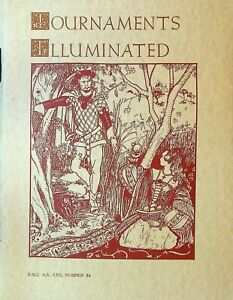 Tournaments Illuminated 84 Fall 1987 Left-Handed Calligraphy Gambeson Surcotes