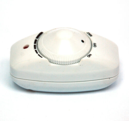 Scale White no wire 1pc Heater Lighting Lamp Dimmer DC-309 AC220V 120W On-Off