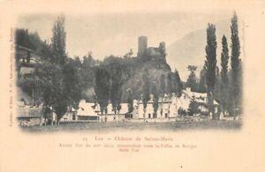 Luz-Castle-of-st-Mary-C1905-Fort-Commandant-Toute-La-Valley-of-Bareges