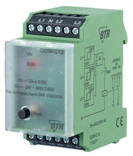 3-Phasen Netzüberwachung BTR  DUW-C12