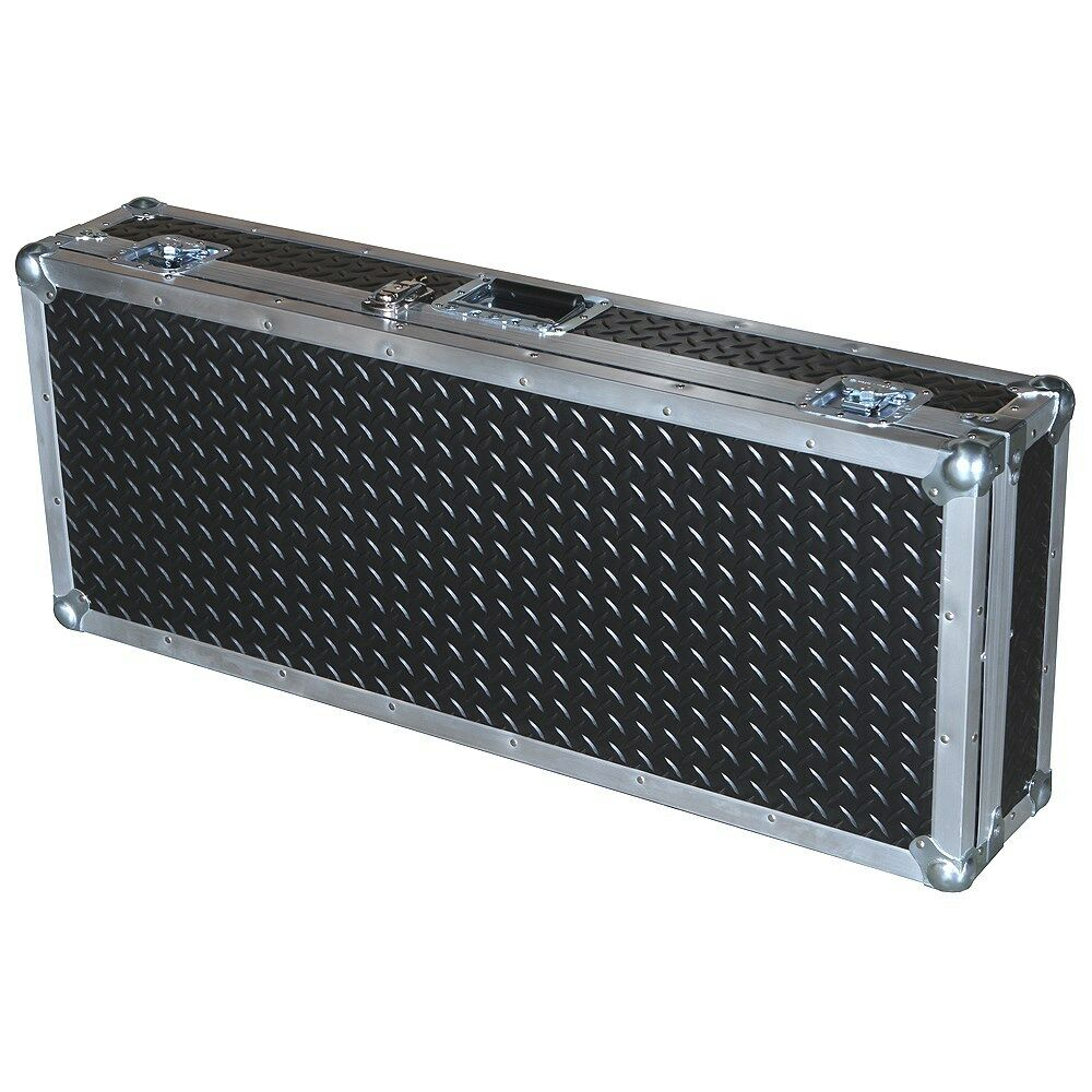 Diamond Plate Rubberized Laminate ATA 3 8  Ply Case for ROLAND FP5 Keyboard