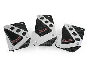 Pedalset Sportpedale 3x Pedal Für Peugeot 308 307 306 Chrom Schwarz