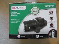 Utilitech Cast Iron Shallow Well Jet Pump 0036758