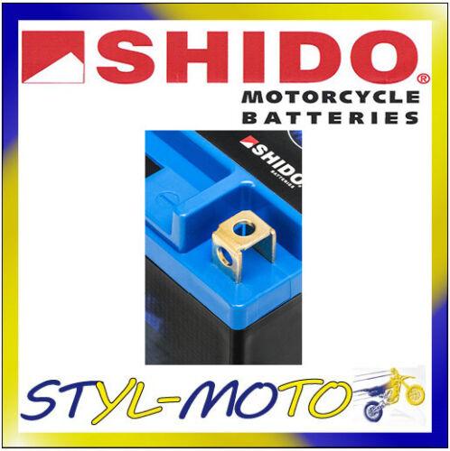 BAROSSA 100 SPORT//PYTHON 2005 LTX5L-BS = YTX5L-BS BATTERIA A LITIO SHIDO