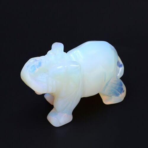 ,,,,6  x4 cm KFG-9 Elefant Figur   aus  Opalit
