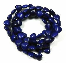 Lapis 15x20mm Butterfly Chalk Turquoise Dyed 19 Beads