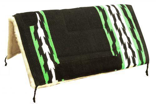 Showman 81.3cmx81.3cm verde Lime Navajo Design Sella Pad W Kodel Pantalone in