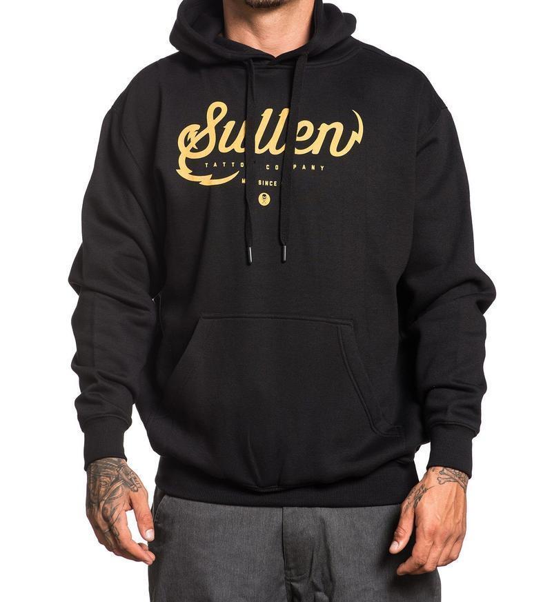 Sullen Art Collective Tattoo Company Urban Skater  Herren Pullover Hoodie SCM1273