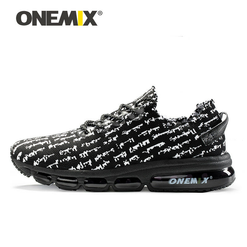 Onemix men's running shoes light casual sneakers damping cushion outdoor jogging