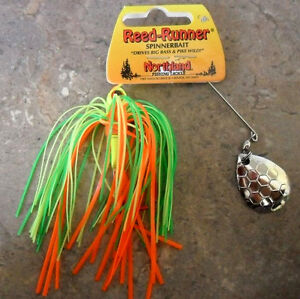 Northland-Reed-Runner-Spinnerbait-3-8oz-Firetiger-Bass-Cod-Perch-Lure-New