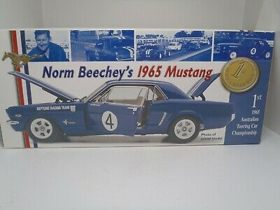 Classic Carlectables 1:18 1965 Norm Beechey Ford Mustang