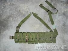 Britisch- Militär Armee 11 Rund 40mm Granate Patronengurt,Bandolier Woodland DPM