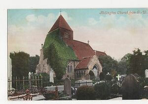Sussex-Hollington-Church-Postcard-A848