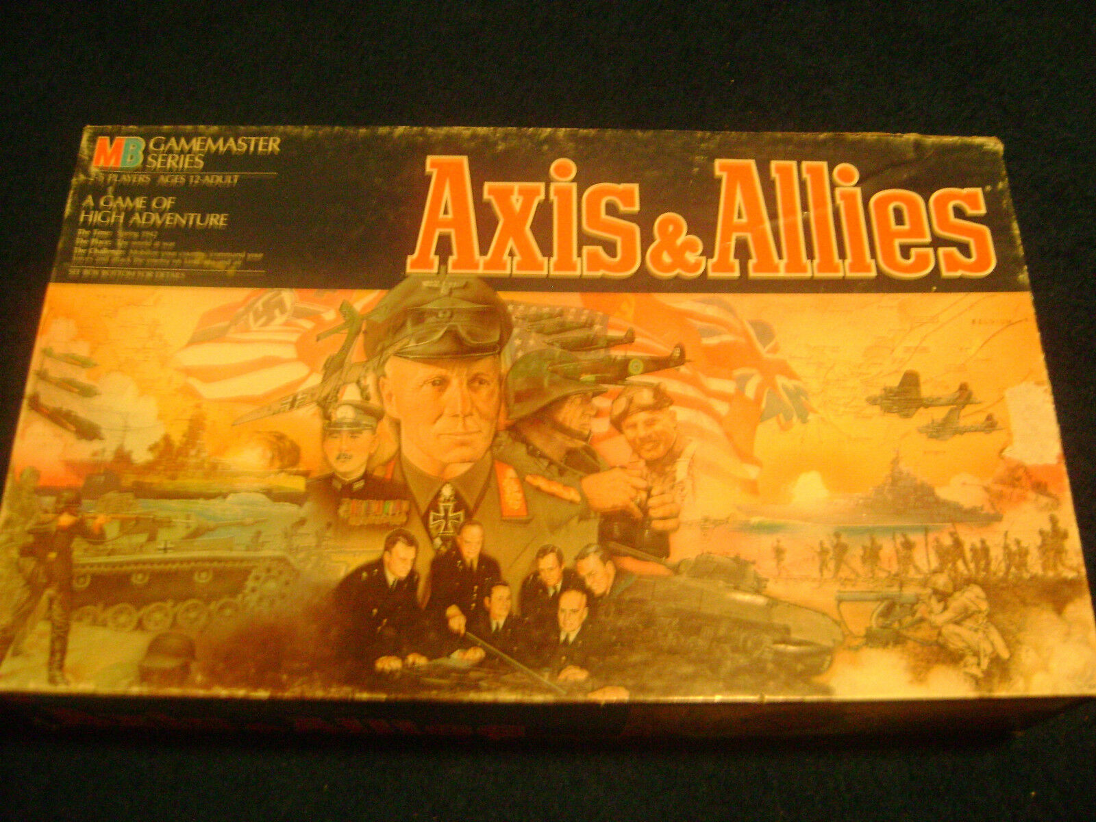 AXIS & ALLIES SPRING 1942 BOARD GAME - COMPLETE