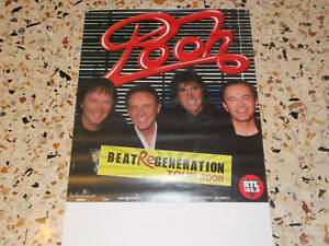 POOH-BEAT-RE-GENERATION-TOUR-2008-NUOVO-cm-70-x-cm-100