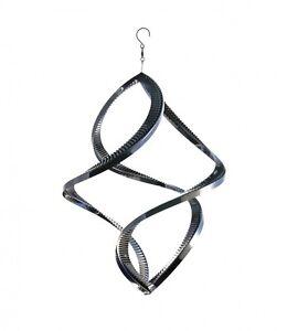 A8021 Steel4you Windspirale Small Twister Edelstahl Deko Garten