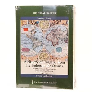 A-History-of-England-from-the-Tudors-to-the-Stuarts-I-4-2003-Paperback-DVD-NEW