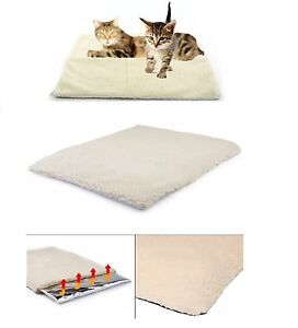Self Heating Thermal Pet Cat Dog Bed Cushion Mattress