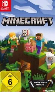 Nintendo-Commutateur-Minecraft-allemand-neuf-dans-sa-boite-NEUF