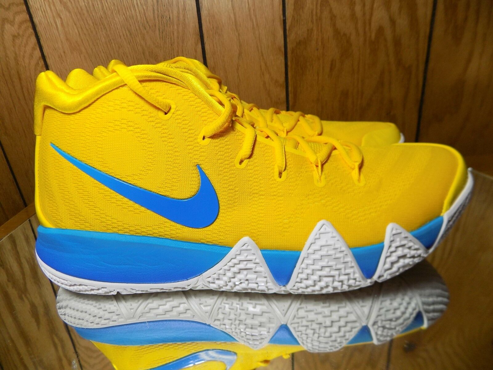 Nike Kyrie 4 IV Kix yellow Multi-color Yellow bluee Cereal Pack BV0425-700 s 12