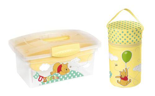 Traveller box + warmhaltebox XXL Disney Winnie Pooh amarillo thermobox box cajas