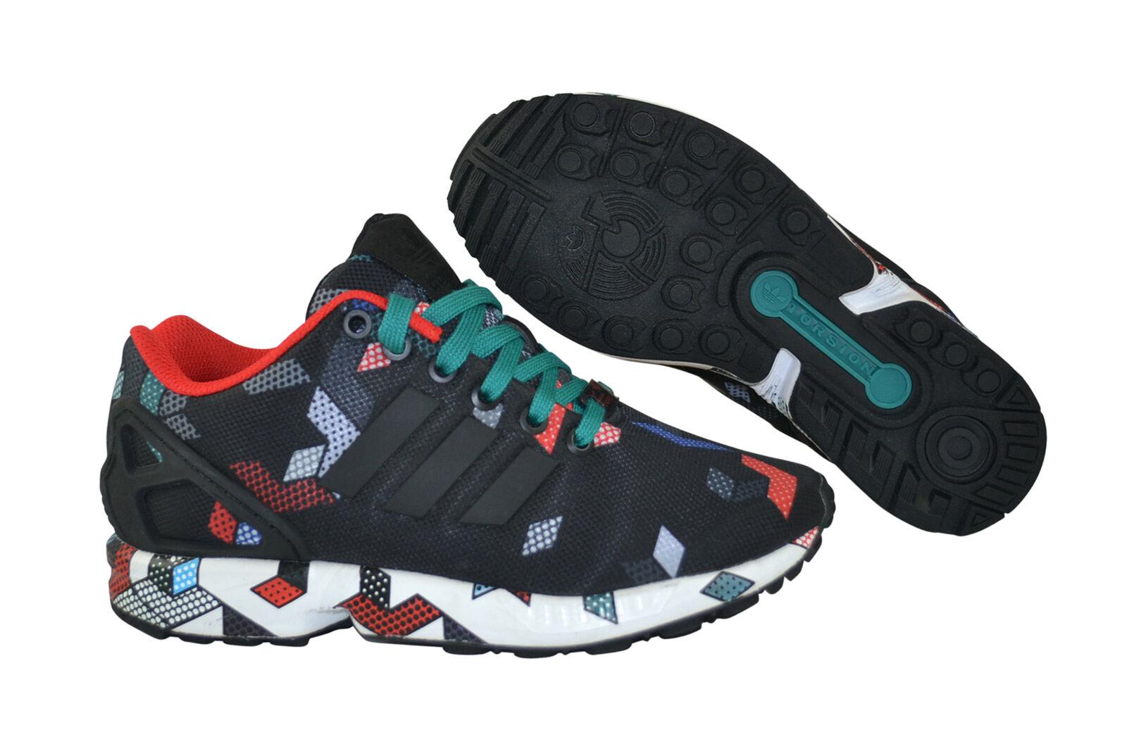 Adidas ZX Flux core black eqt green Sneaker Schuhe schwarz S79095