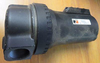 Ross Controls 5022B2005 Full-Size Series Filter Auto Drain Metal Bowl Threaded Ports 1//4 NPT 5 /µm Polyethylene Filter No Gauge