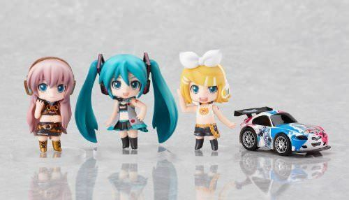 Vocaloid Nendoroid Petit Rq Set Action Figure (bianca Ver.)