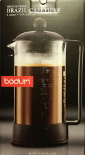 Bodum Brazil 8-Cup French Press Coffee Maker, 34-Ounce, Black 1548-01US NEW