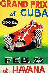 1958-Havana-Cuba-Grand-Prix-Automobile-Race-Car-Advertisement-Vintage-Poster