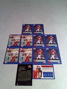 Allen-Pitts-Lot-of-20-cards-3-DIFFERENT-Football-CFL