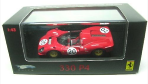 Ferrari 330 P4 Le Mans 1967 P9957 1/43 Hot Wheels Elite