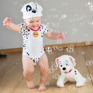 Actif Disney Baby 101 Dalmations Body Vest 0-3 Mois-bébé Bébés Costume Outfit-afficher Le Titre D'origine Diversifié Dans L'Emballage